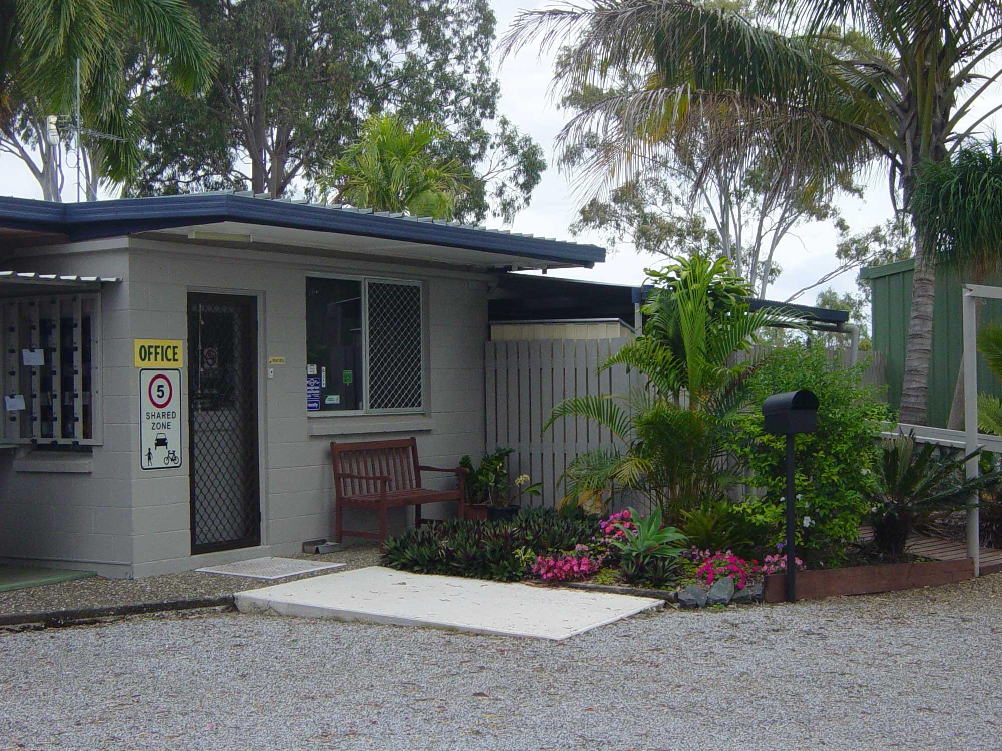 Green Acres Van Park Entrance